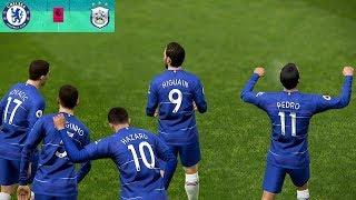 Chelsea vs Huddersfield - Premier League 2 February 2019 Gameplay