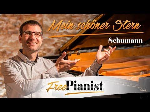 Mein schöner Stern op.101 n.4 - KARAOKE / PIANO ACCOMPANIMENT - Schumann