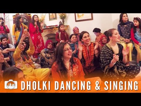 DHOLKI DANCING & SINGING    Islamabad (Pakistan #3)