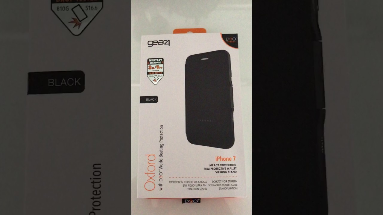 b0074ebcb89c9 Gear4 D30 Oxford Protective Case - Review