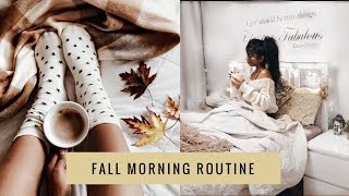 Fall/Autumn Morning Routine | Weekend Edition
