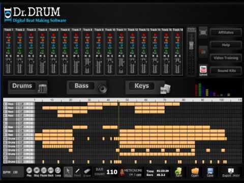 free download dr drum the best beat maker software youtube. Black Bedroom Furniture Sets. Home Design Ideas