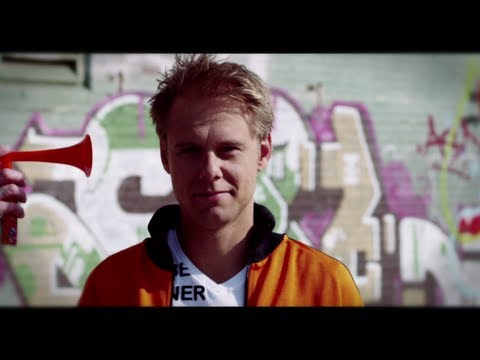 Armin van Buuren - We Are Here To Make Some Noise (Official Music Video)