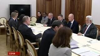 Владимир Путин рассказал о Екатеринбурге