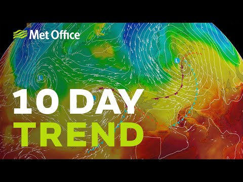 10 Day Trend - A Lively Week And A Half With Some Uncertainties 25/09/19