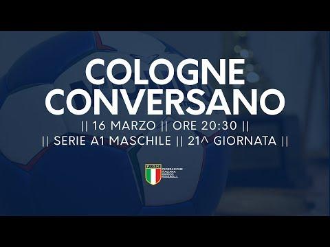 Serie A1M [21^]: Cologne - Conversano 24-33