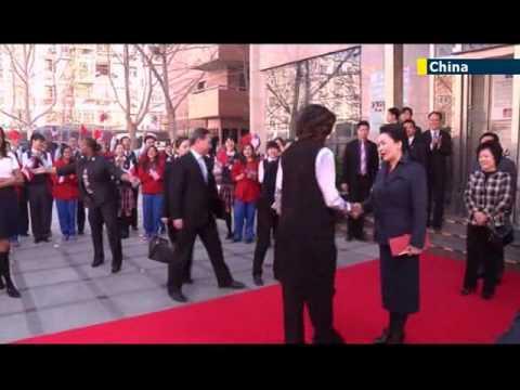 Michelle Obama starts week-long tour of China