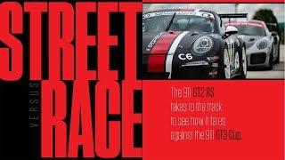 Street vs. Race: Porsche 911 GT2 RS vs. 911 GT3 Cup at Road America