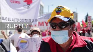 Ecuador: Thousands protest against government's handling of coronavirus crisis