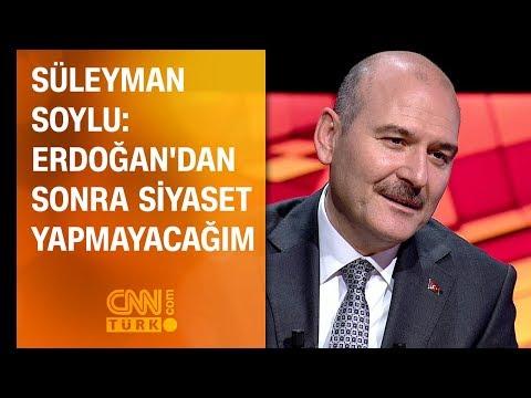 Süleyman Soylu: Erdoğan'dan sonra...