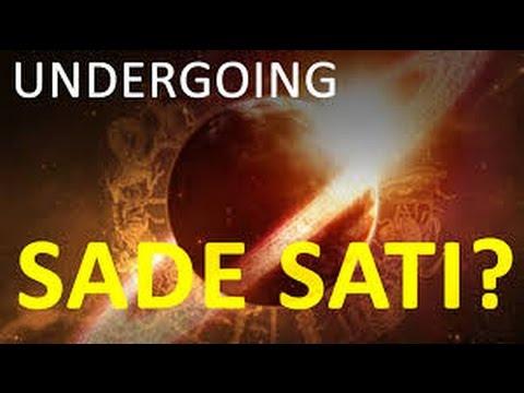 Detailed Effects of SadeSati 7 12 year transit of planet Saturn
