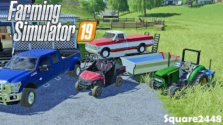 Barn Find! | 1971 Chevy | ATV Trailer | Solar Panels | Homeowner | Farming Simulator 19