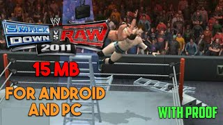 [15MB] How to download WWE 2011 Raw vs Smackdown in only 15 MB (Highly Compressed)