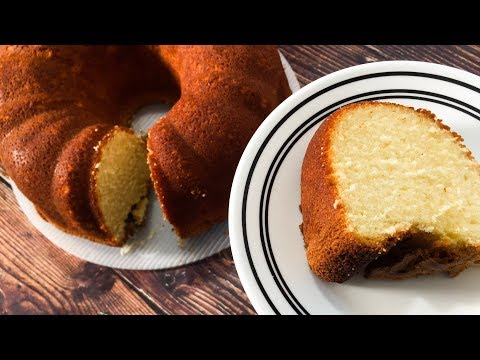 How To Make Cream Cheese Pound / Cream Cheese Pound Cake / Pound Cake Recipe - After Funeral Cake