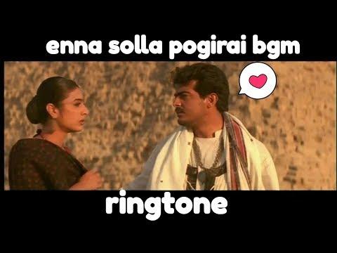 Enna Solla Pogirai Bgm //ringtone//yts