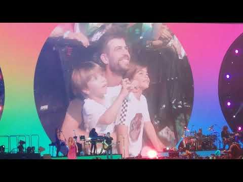 07.07.2018 Barcelona – Shakira, La bicicleta (HD)