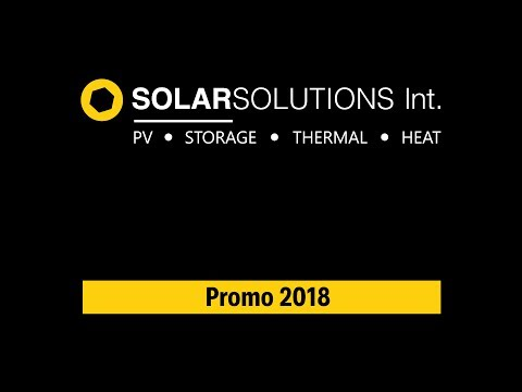 Solar Solutions Int. 2018 Promo