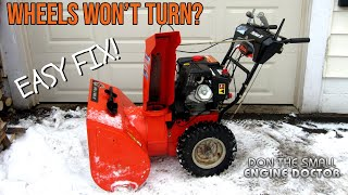 HOWTO Replace A Friction Disc On Ariens Snowblowers  Make It Drive Again!   Video