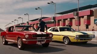 Ford Mustang VS Dodge Challenger ... отрывок из фильма (Пока не сыграл в ящик/The Bucket List)2007