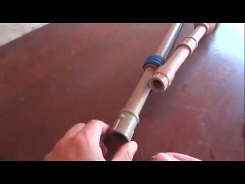 Como fazer bomba manual de pvc para retirar gua de po o - Bombas de agua ...
