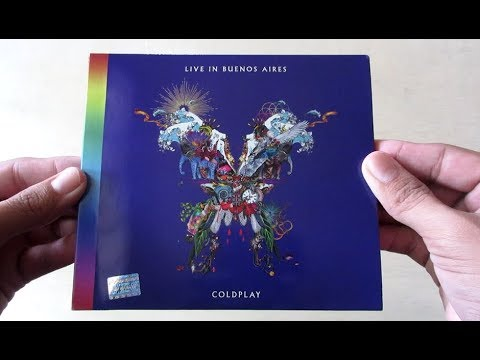 Coldplay Live In Buenos Aires - Unboxing CD en Español Mp3