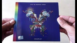 Baixar Coldplay Live In Buenos Aires - Unboxing CD en Español