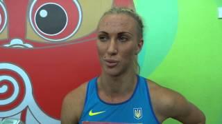 Анастасия Мохнюк интервью после финала семиборья. Чемпионат мира в Пекине 2015