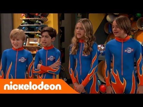 Nicky Ricky Dicky and Dawn | La gara di bob | Nickelodeon