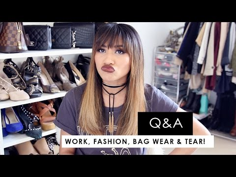 Q&A | What I do for work, fashion inspiration, pochette metis wear & tear