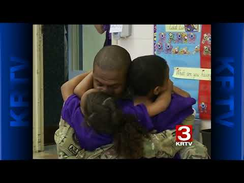 Compilation Soldier coming home US  Marine, Home from Deployment, Surprises Mom at Work for Christma