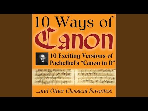 Pachelbel Canon in D - Solo Piano (Cannon, Kanon) mp3