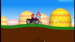 Экстремальный Марио на квадроцикле - Видео обзор онлайн Extreme Mario on quad bike Video Game Online