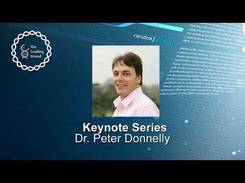 CSHL Keynote: Dr. Peter Donnelly, Wellcome Trust Centre for Human Genetics