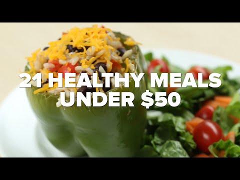 21 Healthy Meals Under $50