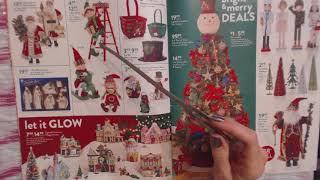 ASMR Whisper ~ Christmas Tree Shops Sales Circular Reading w/Pointer