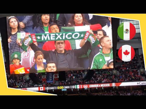Mexico and Canada National Anthems FIFA Soccer