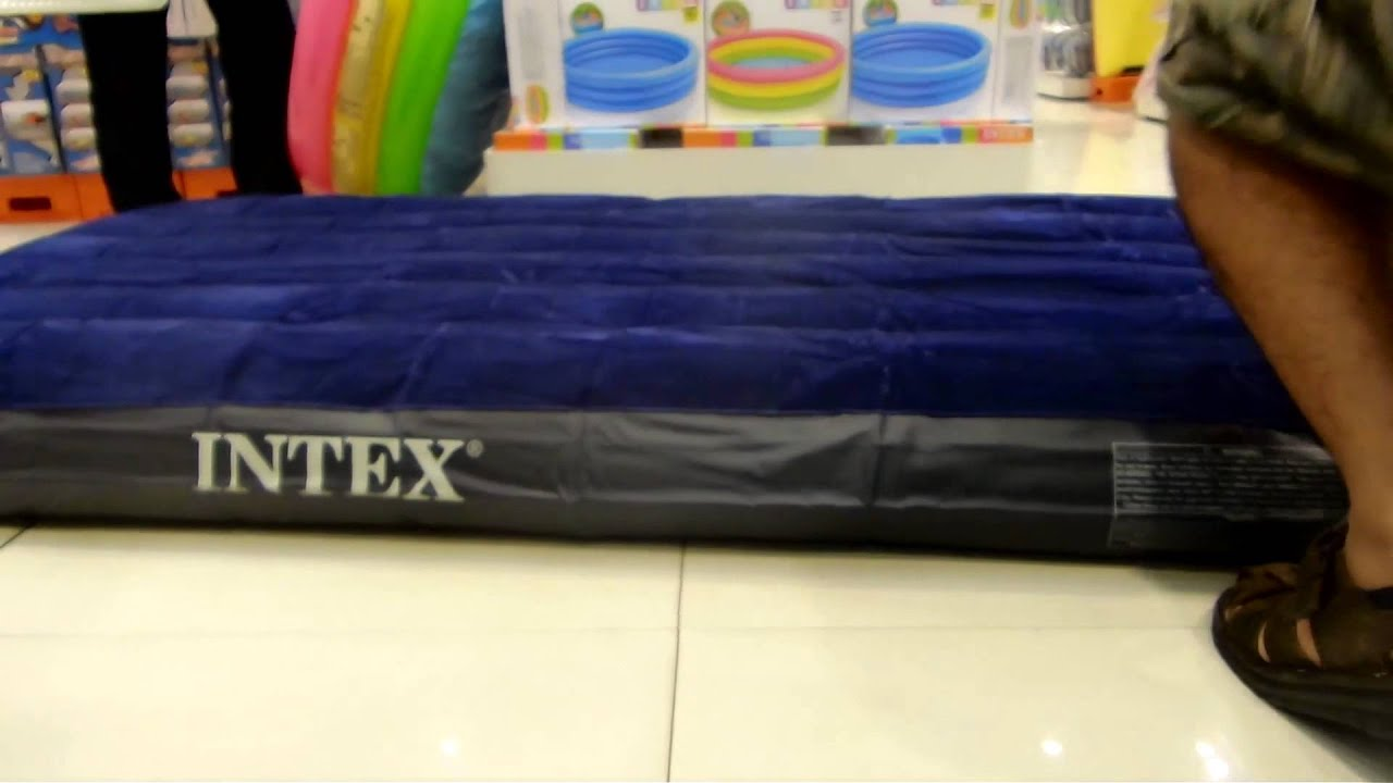 Air Bed Inflate And Deflate An Airbed By Intex Sneak Peak