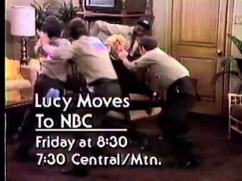 Lucy Moves To NBC & Elvise Remembered 1980 NBC Promo