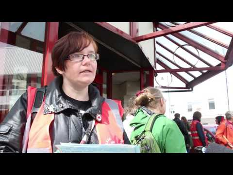 Ashton Job Centre Protest Final