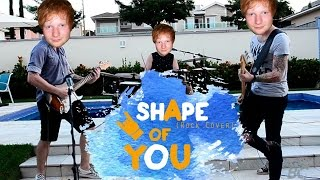 Ed Sheeran - Shape of You (ROCK cover by BC)