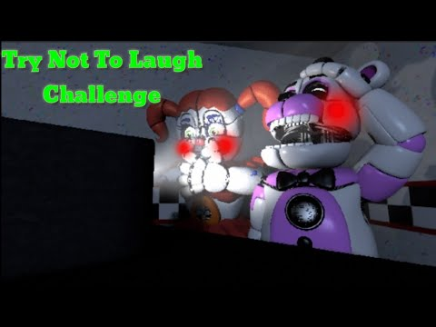 Funtime Freddy & Circus Baby (Try Not To Laugh Challenge)