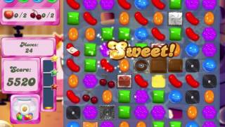 Candy Crush Saga Level 523 Collect all the ingredients