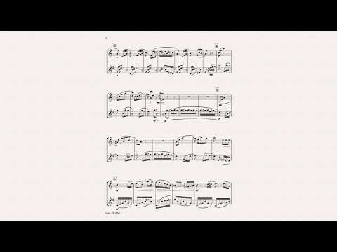 Beethoven Fur Elise Clarinet/Saxophone Duet