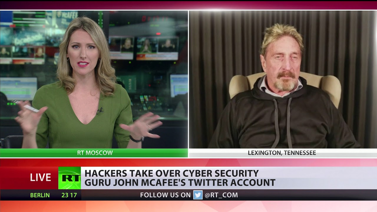 McAfee to RT: 'We live in a new world of sophisticated hacking & cryptojacking'