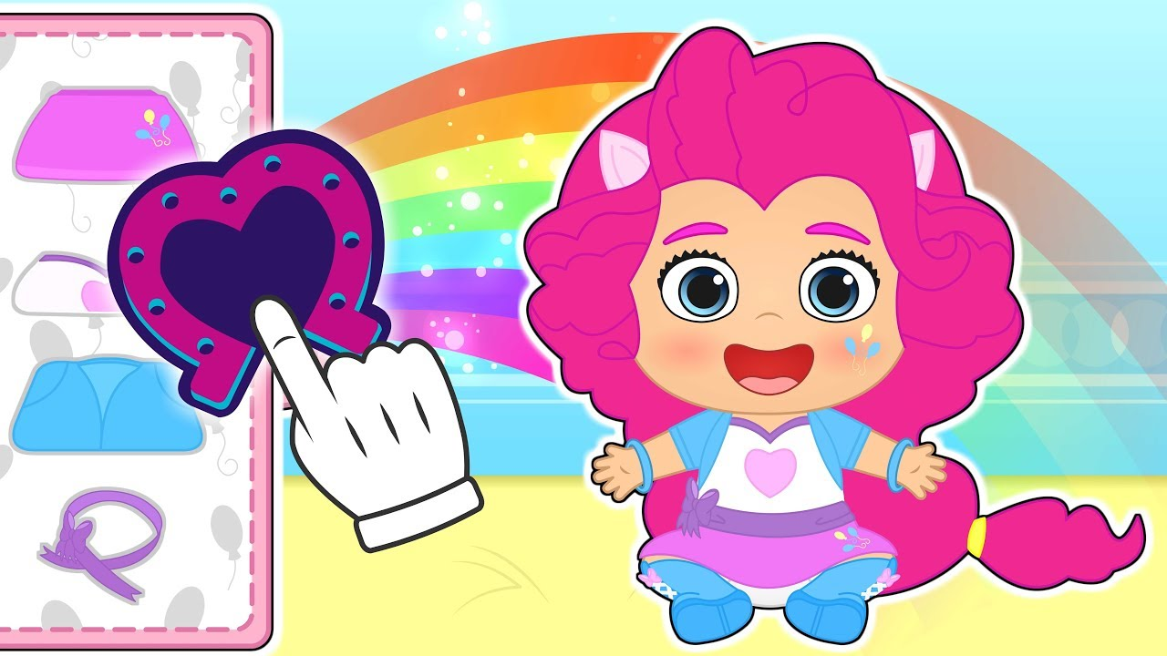 baby-lily-dresses-up-as-my-little-pony-s-pinkie-pie-cartoons-for-kids