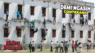 Demi Anaknya Lulus Ujian! Para Orang Tua di India Ini Rela Memanjat Dinding