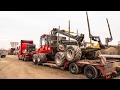 Incarcare Tractor Forestier Forwarder Komatsu 840TX