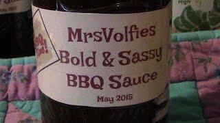 Bold & Sassy Bbq Sauce