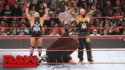 Die Dudley Boyz kündigen ihren Rücktritt an: Raw, 22. August 2016