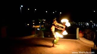Samoan Fire Knife Dancers - Aloha Islanders